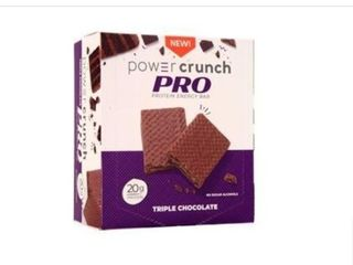 4 Power Crunch Pro Protein Energy Bars  20g Protein  Triple Chocolate EXP 06 21 RETAIl  11 99