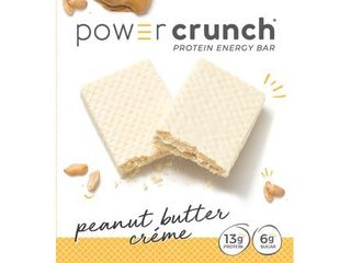 POWER CRUNCH PEANUT BUTTER CREME EXP 05 21 RETAIl   11 99