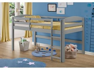 Taylor   Olive Christian low loft Twin Bed with ladder  Retail 292 49