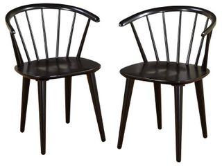 Simple living Florence Dining Chairs  Set of 2  Retail 167 99