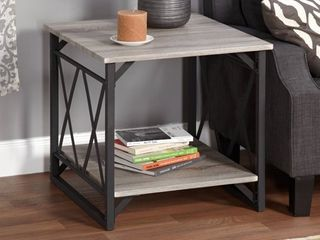 Simple living Seneca XX Reclaimed look End Table  Retail 103 59