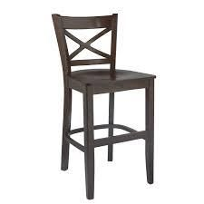 Solid Beechwood Crossback Counter Stool  Retail 127 99