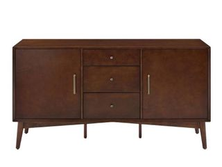 landon Sideboard In Mahogany   57 W x 19 D x 30 H  Retail 539 99