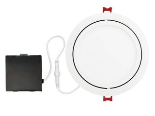 Globe Electric Designer Slim Directional 6 in  White Integrated lED Recessed Kit