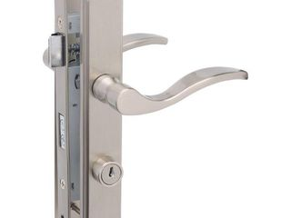Serenade Mortise Storm Door lever  Satin Nickel