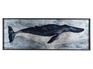 3R Studio Wall Art Blue Whale