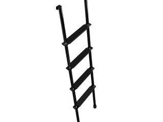 STROMBER lA460B 60 In  Interior Bunk ladder  Black