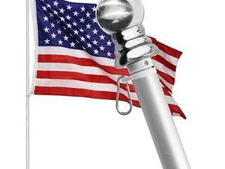 Hoople Tangle Free flag pole