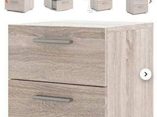 Tvilum Austin 2 drawer night stand