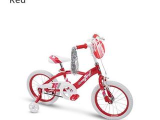 16  Kids Bikes Huffy Glimmer Girls Bike  Red Sports Outdoors