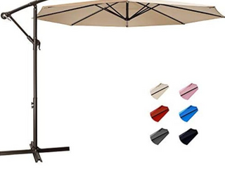 10 ft cantilever offset umbrella ACTUAl PRODUCT MAY VARY FROM STOCK PHOTO