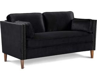 Kuke Home Furniture Sofa Seater Black Sofa
