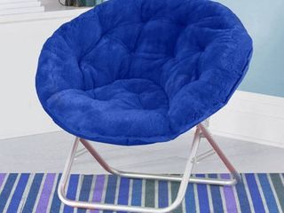 Mainstays Faux Fur Saucer Chair  Available in Multiple Colors