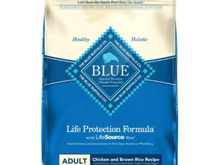 Blue Buffalo life Protection Chicken   Brown Rice Recipe Adult Dry Dog Food   30lbs