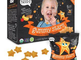 Nosh  Gummy Stars   Banana Sweet Potato