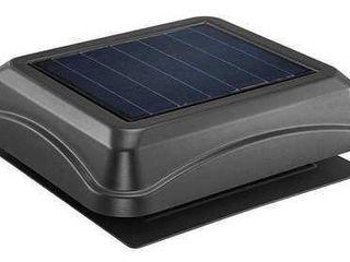 Broan 345SOBK Surface Mount 28 watt Solar Powered Attic Ventilator