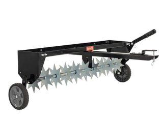 Agri Fab  Inc  40  Spike Aerator Tow Behind lawn Groomer Model  45 0544
