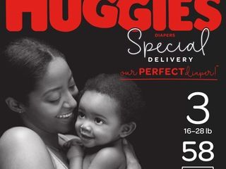 Huggies Special Delivery Disposable Diapers Super Pack   Size 3   58ct