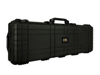 Premium Weatherproof 50 5  Rifle   Shotgun Case   Black   DIY Foam