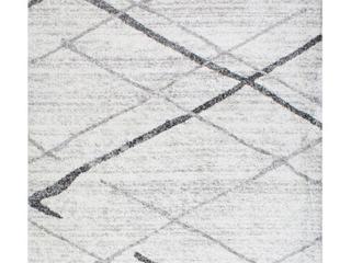 nuloom Smoky Contemporary Thigpen Gray 3  x 5  Area Rug
