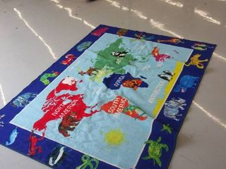 77  x 60  map rug