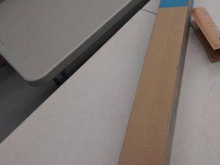 blue office chair mat