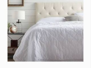 Brookside Emmie Adjustable Cream Queen Upholstered Headboard Bsqqrdpe21hb