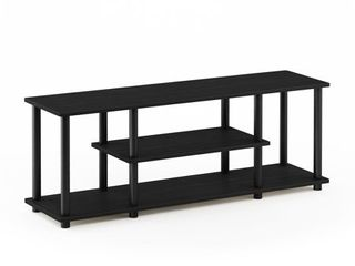 Furinno Turn N Tube No Tool 3 Tier Entertainment TV Stands  Multiple Colors