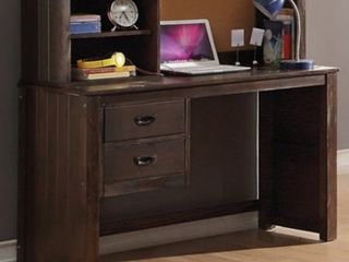 ACME Hector Desk  Antique Charcoal Brown  Box 3 of 3