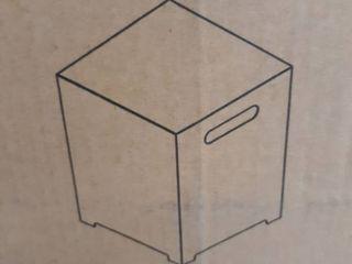 metal box w  open bottom