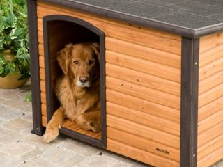 Petmate Precision Extreme Outback log Cabin Dog House  large