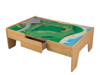 KidKraft Wooden Play Table   Natural