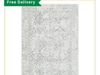 nulOOM Bodrum RZBD21A 53079 5 3  x 7 9  Ivory Area Rug