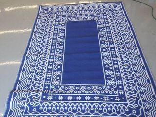 5 x7 7  reversible plastic rug
