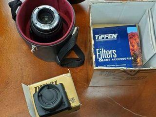 Nikon Magnifiers  Tiffen Filters
