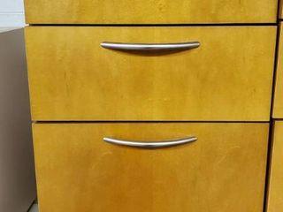 Under Desk Wood Cabinet