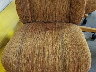 Multi Colored Fabric Office Chair