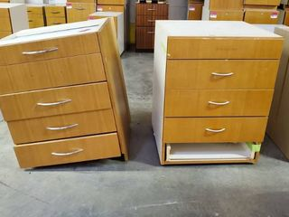 2  5 Drawer Cabinets  Need TlC