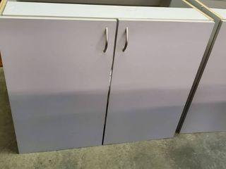 Gray 2 Door Cabinet