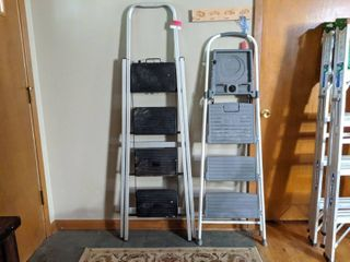 Cosco 3  Step Connection ladder  And Skinny Mini 4  Step ladder