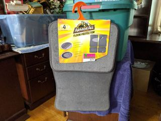 ArmorAll Floor Protector 4 Pieces With Anti Slip Backing
