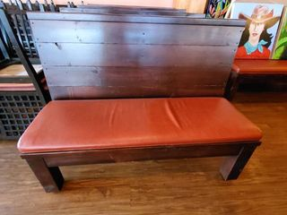 7ft Wood Bench