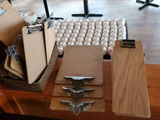 Various Sized Clipboards