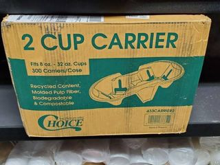 2 Cup Carrier 300 count
