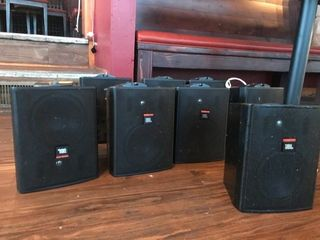 JBl control contractor series speakers model 25av W  Sub woofer  Wall Mount