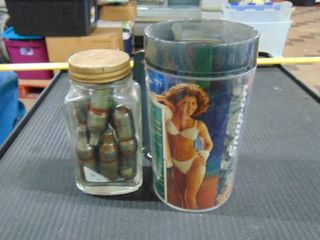 Snap On mug with Female model   vintage jar w  co2 cartridges
