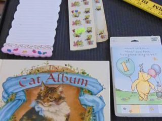 Note pads   cat album   cat angel pin