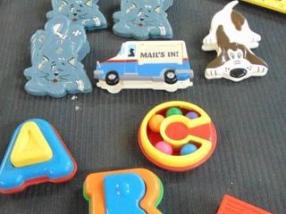 Kids toys and magnets   magnetic clips