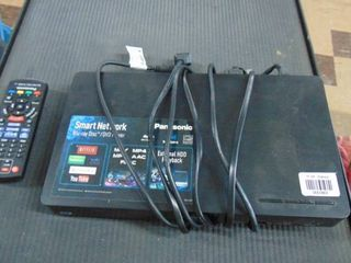 Panasonic Blue Ray player with cord and remote