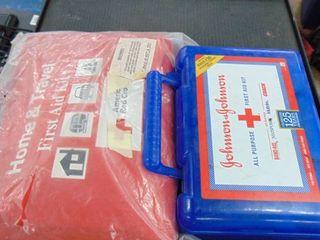 2  1st aid kits